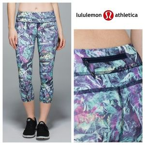 Lululemon Iridescent Multi Inspire Crop II